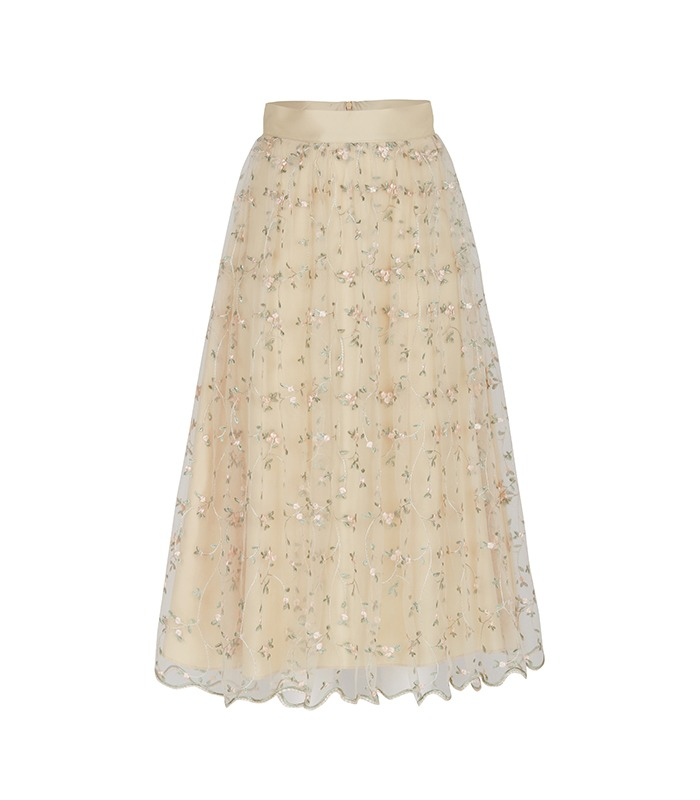 [only Astier] blooming lace skirt - 2차