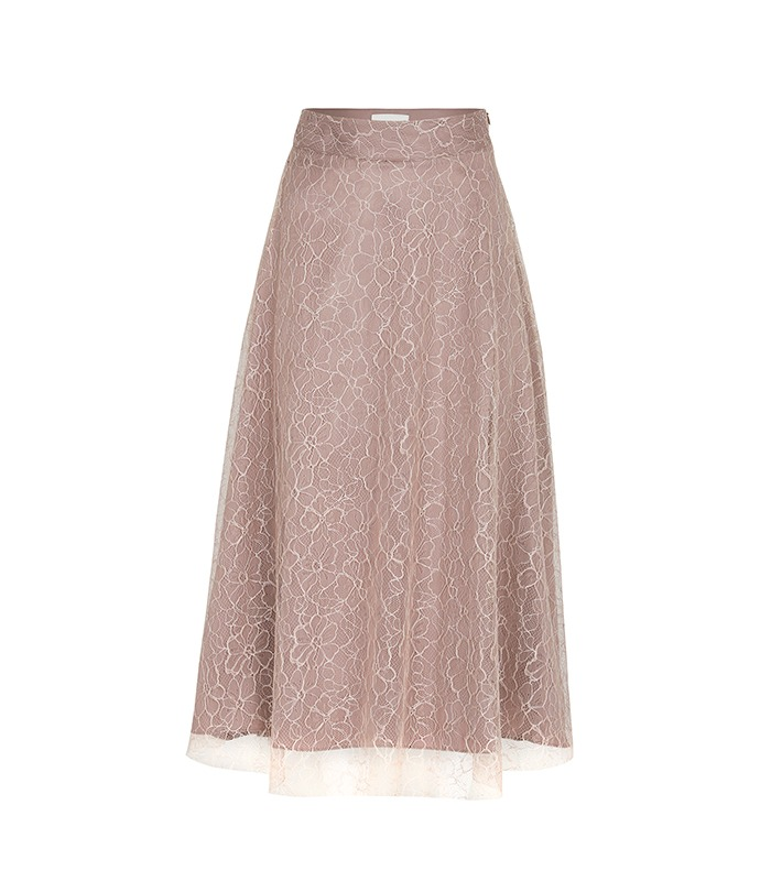 [only Astier] venus lace skirt
